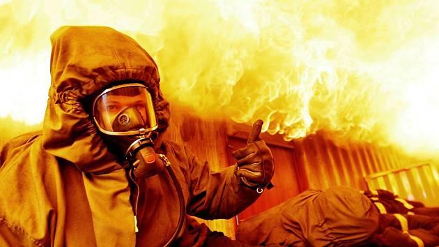 Vendula Horáková, tisková mluvčí pardubických hasičů