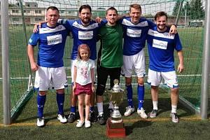FC Laguna slaví šestý titul v řadě.