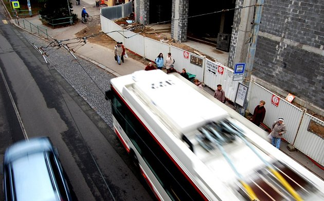 Čekání na trolejbus