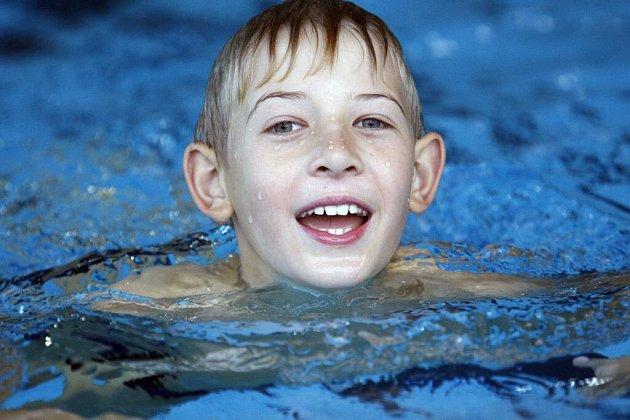 Plavání přináší radost...
