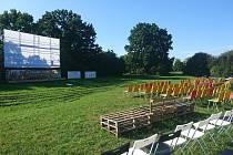 Pardubické letní kino Pernštejn