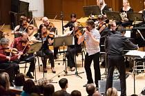 Dan Bárta s pardubickou filharmonií