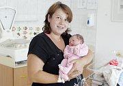 KLÁRA KŘÍŽKOVÁ se narodila 28. června ve 21 hodin a 57 minut. Měřila 51 centimetrů a vážila 3480 gramů. Maminku Janu podpořil u porodu tatínek Lukáš. Bydlí v Mikulovicích a doma na ně čeká Tadeáš (17 měsíců).