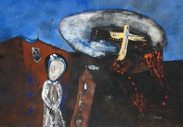 Do Gong Gallery na pardubické třídě Míru po delší pauze opět zavítala malířka Eva Filipová. Její výstava má název Obrazy z mého světa.