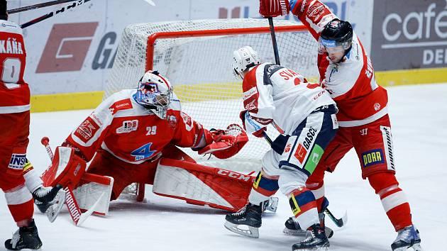 Hokejová extraliga - 44. kolo: Pardubice - Olomouc
