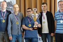 Šachisté GASCO Pardubice jsou druzí nejlepší v republice...