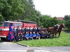 Dobrovolnou jednotku hasičů ve Vysoké tvoří třetina obyvatel obce