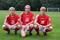 Ladislav Hladík a jeho synové Vít a Martin