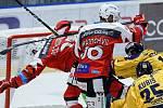 Hokejová extraliga: HC Dynamo Pardubice - PSG Berani Zlín.
