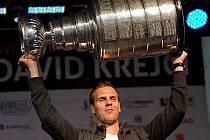 David Krejčí se Stanley Cupem