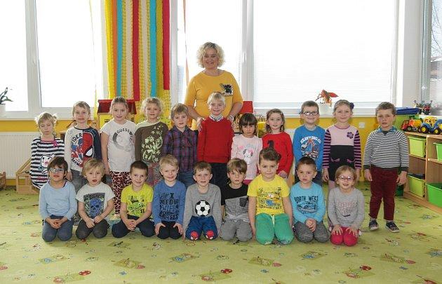 Mateřská škola Pardubice-Jesničánky, třída Včeličky