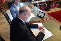 Podpis memoranda