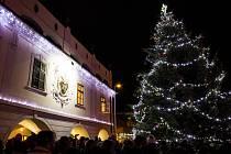 Rozsvícení vánočního stromu Lázně Bohdaneč.