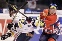 Z hokejového utkání Pardubic proti Liberci