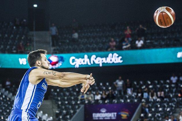 Basketbalový duel Maďarsko - Česko na evropském šampionátu lépe zvládli naši soupeři.