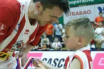 Radek Nečas na snímku se svým synem