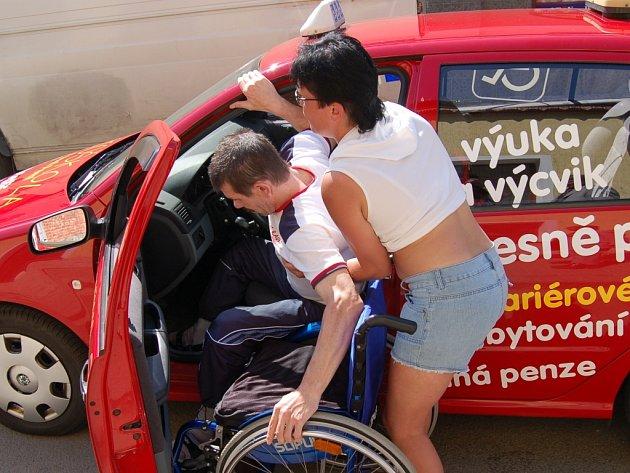Autoškola pro handicapované v Přelouči