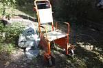 Ukradený vozík z Pardubické nemocnice měl na svědomí 55letý bezdomovec.