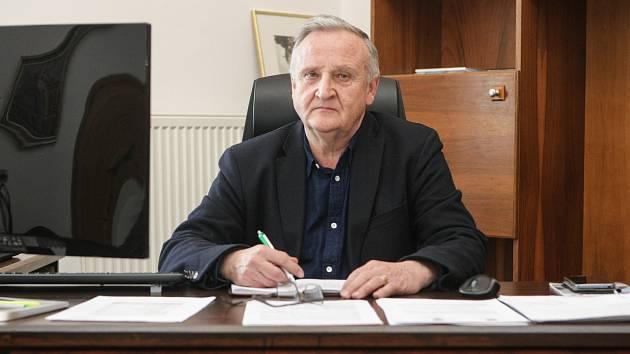 Starosta Lázní Bohdaneč Vladimír Šebek.