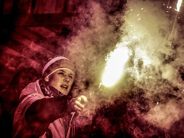 S pyrotechnikou je teď v centru Pardubic konec. Zákaz míří především na sportovní fanoušky.