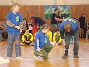 Mladí hasiči na soutěži v piškvorkách