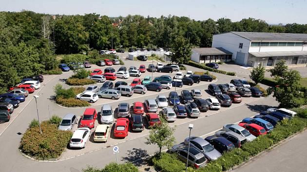 Parkování v pardubické nemocnici