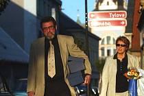 Miloš Hlavica a Růžena Merunková