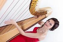 Muzikálový večer s harfou.