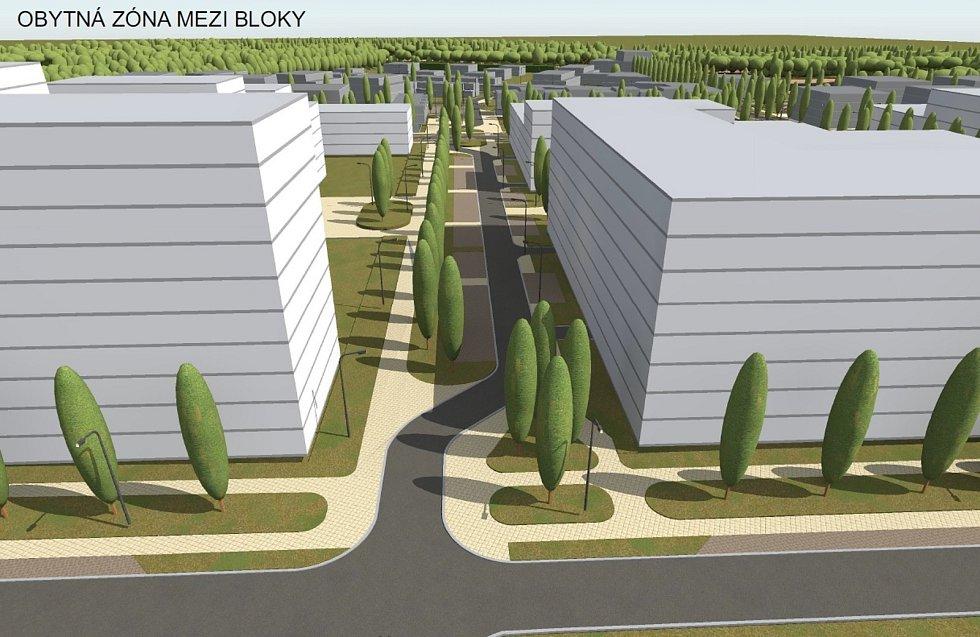 V blízkosti přírodní lokality Červeňák má vyrůst asi tisícovka bytů.Zdroj: BlackBird Real Estate