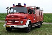 Klání v požárním útoku v podání hasičů z Vysoké