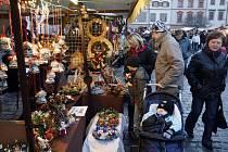 Adventní vánoční trhy na Pernštýnském náměstí