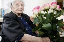 Anna Šlingrová oslavila v pondělí 101 let