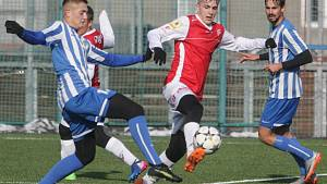 Fotbalová příprava: FK Pardubice - FK Dobrovice.