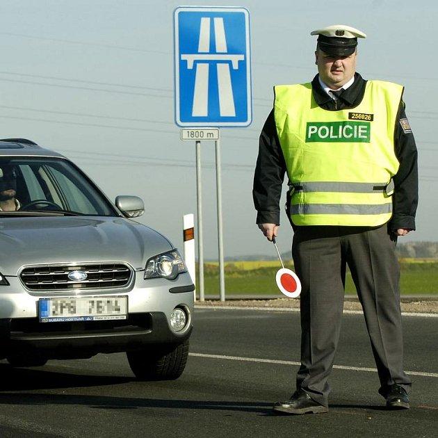 Policie v akci
