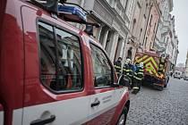 Požár v kavárně v Pernštýnské ulici v Pardubicích se obešel bez zranění. Zahořela elektronistalace.
