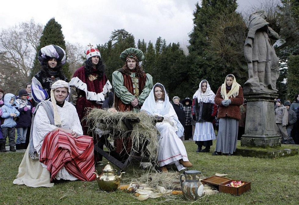 Advent na choltickém zámku a klanění Tří králů