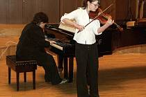 Talentovaná houslistka Barbora Kučerová