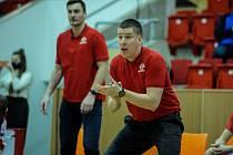 Kooperativa NBL: BK JIP Pardubice - Basket Brno.