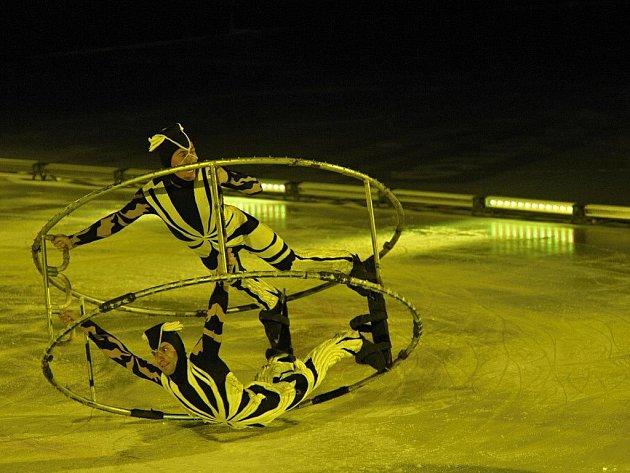 Ledový cirkus v Pardubicích