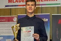 Nejlepší mladý chemik Tomáš Kocanda.