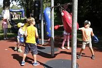 Ve Sportovním parku Pardubice to žije. Na návštěvníky čekají desítky sportů.
