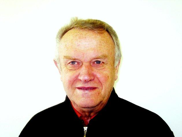 Předseda pardubické sportovní organizace ČSTV Zdeněk Čihák