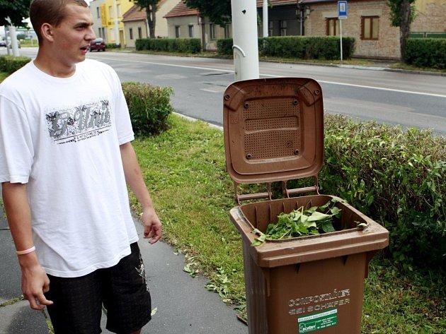 Kontejner na biologický odpad