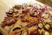 Vánoční jarmark v Perníkové chaloupce pod Kuňkou nabídl příchozím atmosféru blížících se svátků.