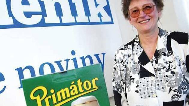 Chcete vyhrát pivo Primátor? Poté hlasujte v soutěži Hospůdka roku. Jako paní Nováková.