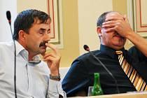 Náměstek primátora Alexander Krejčíř (vlevo)
