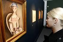 Výstava Čapkových obrazů v Pardubicích