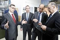 Turecký velvyslanec v České republice Ahmet Necati Bigali navštívil Pardubice a Přelouč.