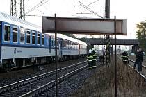 Mrtvý muž pod kola vlaku ulehl zřejmě dobrovolně