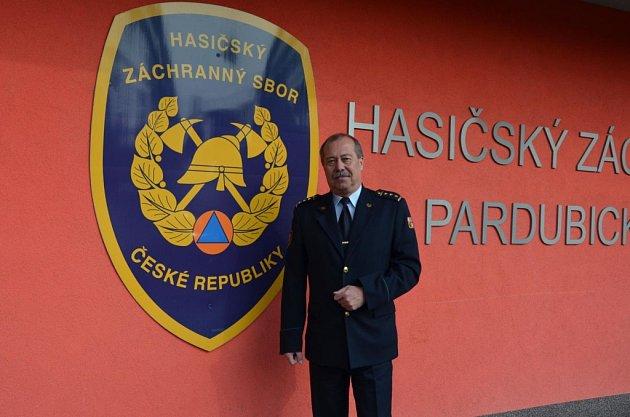 Miroslav Kvasnička, ředitel HZS Pardubického kraje je nyní brigádním generálem.